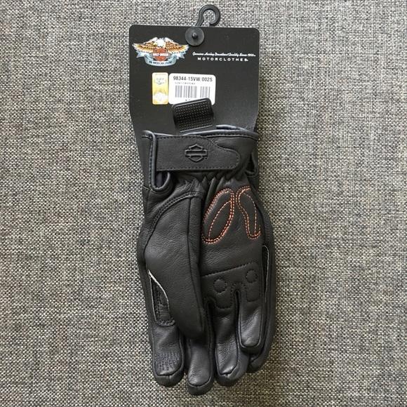 Harley-Davidson Other - Harley Davidson Women's Leather Riding Gloves XS